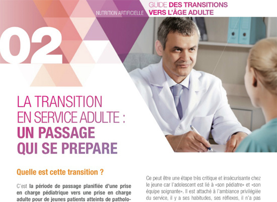 La transition en service adulte