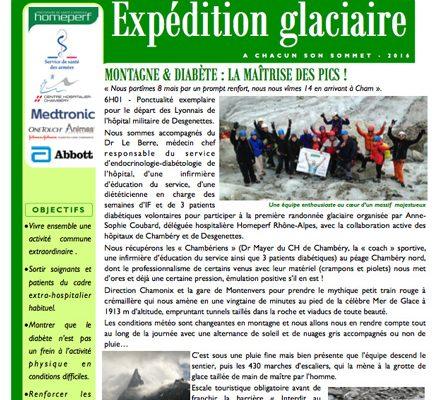 Expédition glaciaire