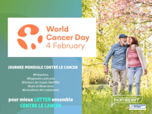 4 FEVRIER 2021 : JOURNEE MONDIALE CONTRE LE CANCER